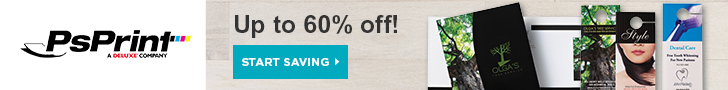 Save up to 60% Off on Full Color Printing