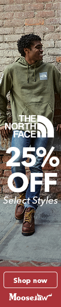 Fall Sale! 25% off The North Face