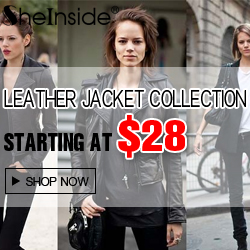 Shop for Leather Jackets at SheInside