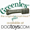 Greenies Available at DogToys.com