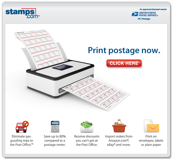 Print Postage Right from  Your PC!