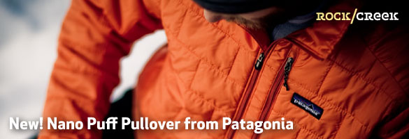 Patagonia's new Nano Puff Pullover at Rock/Creek