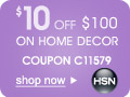 Save $10 off $100 Home purchase w/Coupon C73911