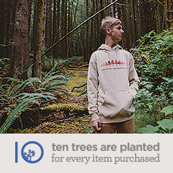 10 Trees are planted for every item purchased from TenTree! Shop men's and women's clothing and acce