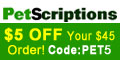 Petscriptions has a wide variety of discount pet m
