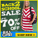 Biggest Back to School Sale Ever! Up to 70% Off Kids Apparel & Accessories