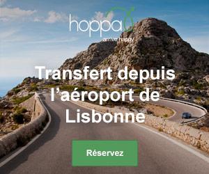 Transferts depuis l'aéroport de Lisbonne