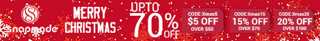 Snapmade 2015 Merry Christmas up to 70% Off Deals - 468*60