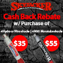 Purchase a set of 4 Skyjacker Shock Absorbers and get $55 CASH BACK from Skyjacker