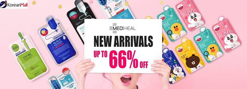 Get 10+10 sheets Korean Favorite Mediheal Mask Pack only at Koreanmall. Redeem it NOW for $13.23