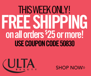 Limited Time: FREE Shipping on $25 or more 300 x 2