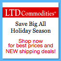 Save Big ALL Holiday Season at LTD Commodities. Shop now for the best prices and NEW shipping deals!