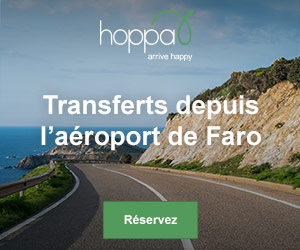 Transferts depuis l'aéroport de Faro