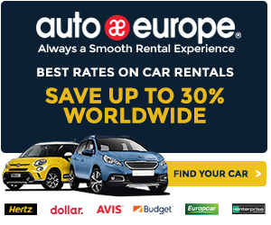 Save up to 30% on car rentals in Europe