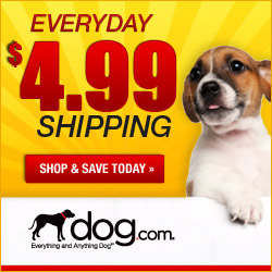 Dog.com Free Shipping on orders over $69