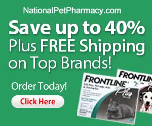 Save up to 50% at National Pet Pharmacy