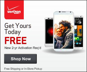 Free Phones at Verizon Wireless!