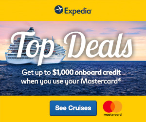 Up to $1000 Credit when you use Mastercard®!