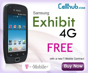 Samsung Exhibit 4G FREE