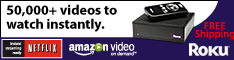 Roku  Free Shipping Limited Time Offer