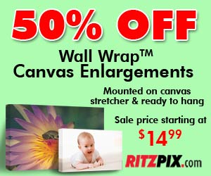 50% Off Canvas Prints Coupon Code: Canvas50