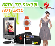 10% Off Back to School Promotion at SooBest with order $50+ plus free shipping, code back10