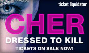 Cher concert tickets
