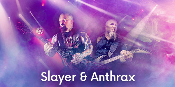 Slayer and Anthrax Tickets
