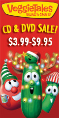 VeggieTales DVD & CD Sale $3.99-$9.95