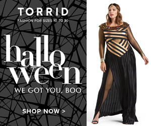 Torrid, Plus Size, Womens Apparel, Clothing, Costume, Halloween, Cosplay, costumes