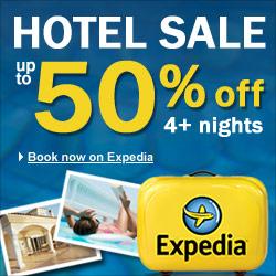 Summer Vacation Sale at Expedia!