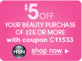 Save $10 off $75 on beauty with Coupon C75017