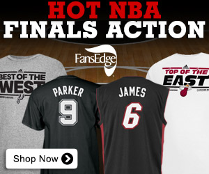 Shop for 2013 NBA Finals Fan Merchandise at FansEdge.com