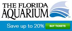 The Florida Aquarium - Save 20% on Tickets! (233x102)
