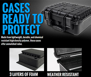 Weatherproof Tactical Cases 300x250
