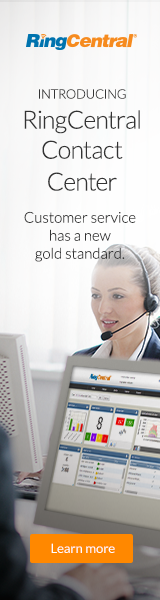 Introducing RingCentral Contact Center. Customer service has a new gold standard. Learn More.