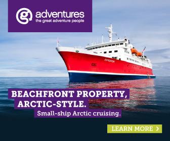 Artic adventure cruise see the polar bears