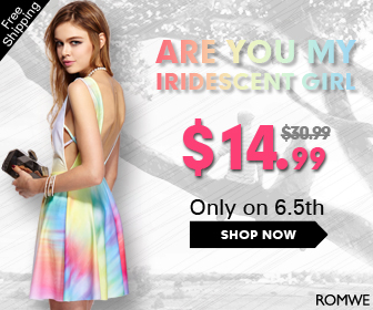 Iridescent girl $14.99 from $30.00,24 hrs only on 6.5th!