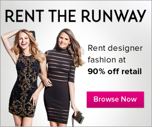Rent designer fashion for a fraction of the retail price at RENT THE RUNWAY!