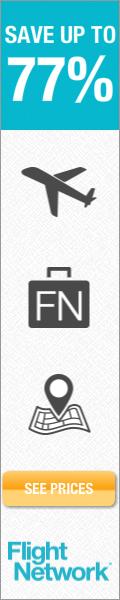 Save up to 77% on flights at Flightnetwork