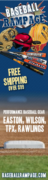 Free Shipping at Baseball Rampage