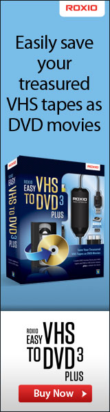 Roxio's Easy VHS to DVD for MAC