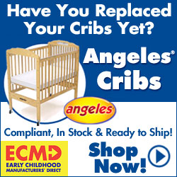 Have you replaced your crib yet? Shop cribs that are compliant, in stock and ready to ship from Angeles!