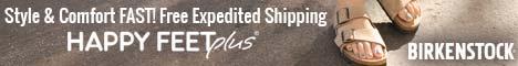 Happy Feet Plus: Birkenstocks On Sale
