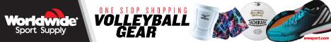 Shop Volleyball Gear from Worldwide Sport Supply