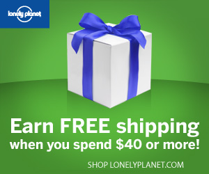 Get free shipping at Lonely Planet