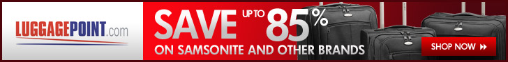 LuggagePoint.com Save Up to 85% on Samsonite Luggage and Other Luggage Brands at Luggae Point