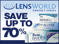 Save up to %70 with LensWorld.com