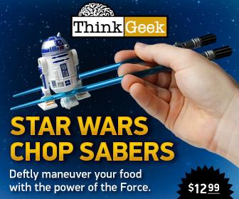 Star Wars Chop Sabers chopsticks