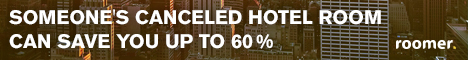 Save up to 60% on Hotel Rooms with Roomer
